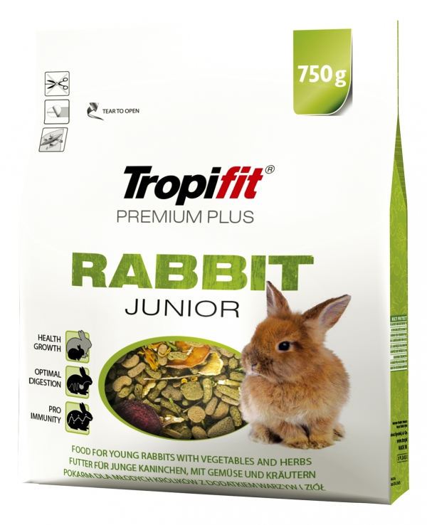 TROPIFIT PREMIUM PLUS  RABBIT JUNIOR